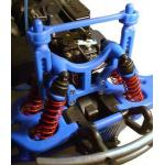 T-Maxx & E-Maxx Shock Tower & Body Mounts – Blue