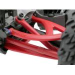 Rear A-arms for the Traxxas 1/16th Scale Mini E-Revo – Red