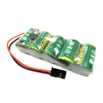 NiMH RX Flat Receiver Batteries 1600 mAh. 6V