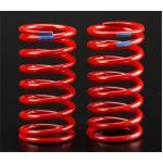 Spring, shock (red) (GTR) (5.9 rate blue) (std. rear 120mm) (1 pair)