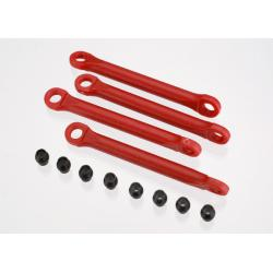 Push rod (molded composite) (red) (4)/ hollow balls (8)