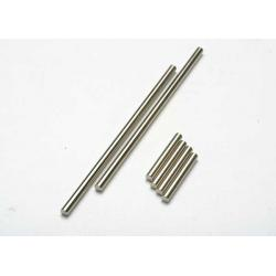 Suspension pin set (front or rear, hardened steel), 3x20mm (4), 3x40mm (2)