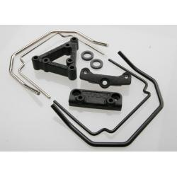Sway bar mounts (front & rear) (Revo)/ sway bar wires (front & rear) (4)/ drill guide/ spacers
