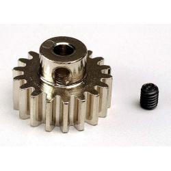 Gear, 18-T pinion (32-p) (mach. steel)/ set screw