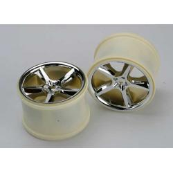 "Wheels, Gemini 3.8"" (chrome) (2) (also fits Maxx series)"