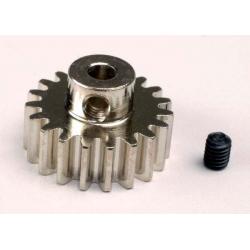 Gear, 19-T pinion (32-p) (mach. steel)/ set screw