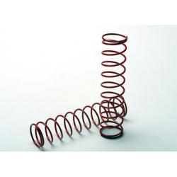 Springs, red (for Ultra Shocks only) (2.5 rate) (f/r) (2)