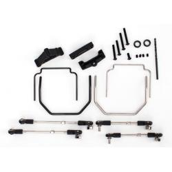 Sway bar kit, Revo (front and rear) (includes thick and thin sway bars and adjustable linkage) (requires part #5411 to install rear bumper)