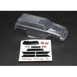 Body, 1/16 Summit (clear, requires painting)/ grill, lights decal sheet