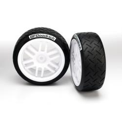 Tires and wheels, assembled, glued (Rally wheels, BFGoodrich® Rally tires (soft compound) (2)