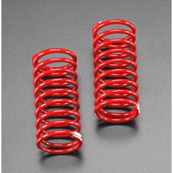 Spring, shock (red) (GTR) (2.9 rate white) (1 pair)