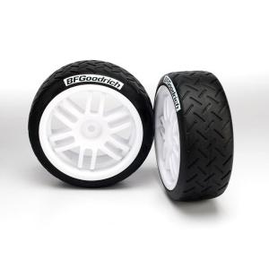 Tires and wheels, assembled, glued (Rally wheels, BFGoodrich® Rally tires) (2)