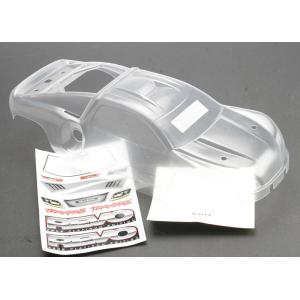 Body, Revo (Platinum Edition) (clear, requires painting)/decal sheet