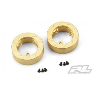 Brass Brake Rotor Weights for Pro-Line 6 Lug Hex Adapter (6292-00)