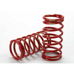 Spring, shock (red) (GTR) (3.8 rate gold) (1 pair)