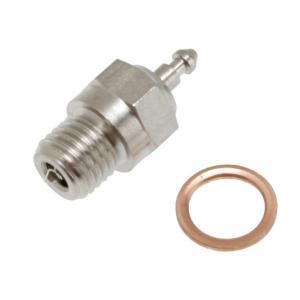 Glow plug, super-duty (long-medium)/gasket