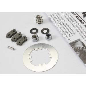 Rebuild kit, slipper clutch (steel disc/ friction pads (3)/ spring (2)/ 2x9.8mm pin/ 5x8mm MW/ 5.0mm NL (1)/ 4.0mm NL (1))