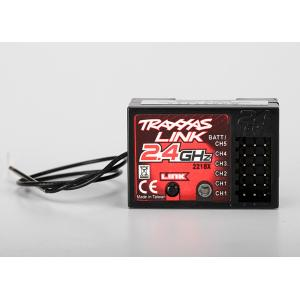 Receiver, micro TQ 2.4 GHz with Traxxas Link (5-channel)