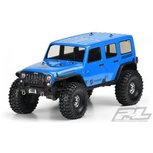 "Jeep Wrangler Unlimited Rubicon Clear Body for 12.8"" Wheelbase TRX-4"