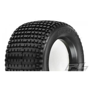 "Blockade 3.8"" (Traxxas Style Bead) All Terrain Tires for Front or Rear 3.8"" Traxxas Style Bead Wheels"