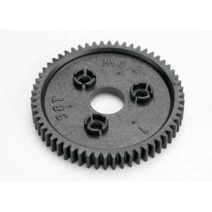 Spur gear, 58-tooth (0.8 metric pitch, compatible with 32-pitch)