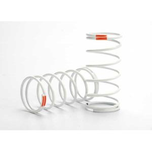 Spring, shock (white) (GTR) (front) (0.9 rate orange) (1 pair)