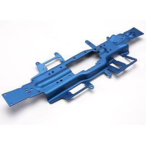 Chassis, Revo 3.3 (extended 30mm) (3mm 6061-T6 aluminum) (anodized blue)