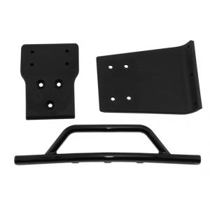 Black Front Bumper & Skid Plate for the Traxxas Slash 4×4
