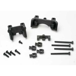 Shock mounts (front & rear)/ wire clip (1)/ chassis wire clips (4)/ 3x32mm CS (4)/ 3x6mm BCS (1)