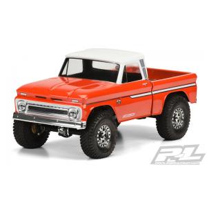 "1966 Chevrolet C-10 Clear Body (Cab & Bed) for SCX10 Trail Honcho 12.3"" (313mm) Wheelbase"