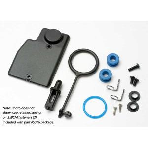 Rebuild kit, fuel tank (includes: mounting post, grommets (2), tank guard, mounting clips (2), cap o-ring, cap o-ring retainer, cap pull ring, spring, hardware)