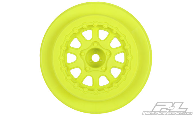 "Renegade 2.2""/3.0"" Yellow Wheels for Slash*, Slash 4x4, SCRT10 & Blitz Front or Rear"