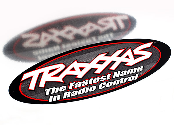 "Traxxas 9"" Oval Decal, 2 Sided"