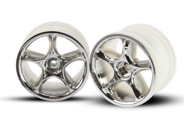 "Wheels, Tracer 2.2"" (chrome) (2) (Bandit rear)"