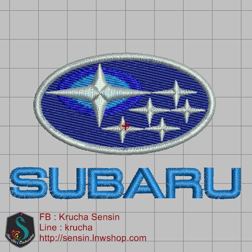 บล๊อคปัก SUBARU-1