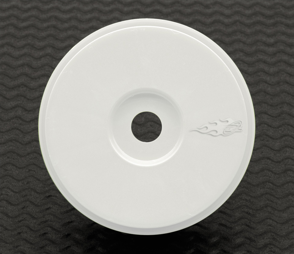 Velocity 1:8 White Buggy Wheel 17mm (2-pack)