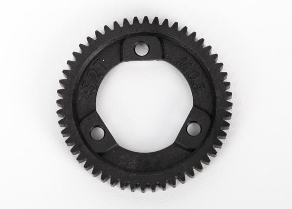Spur gear, 52-tooth (0.8 metric pitch, compatible with 32-pitch) (for center differential)