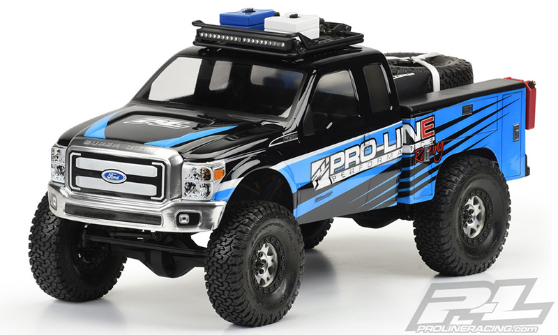 Utility Bed Clear Body for Honcho Style Crawler Cabs