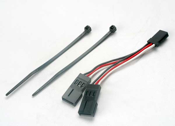 Servo connector, Y adapter (for dual-servo steering)