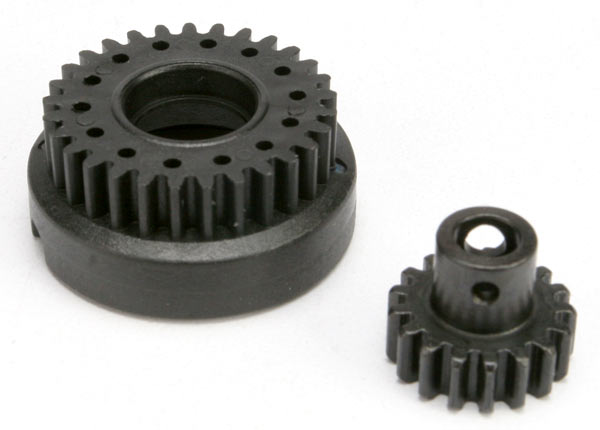 Gear set, two-speed (2nd speed gear, 29T/ input gear, 17T steel)