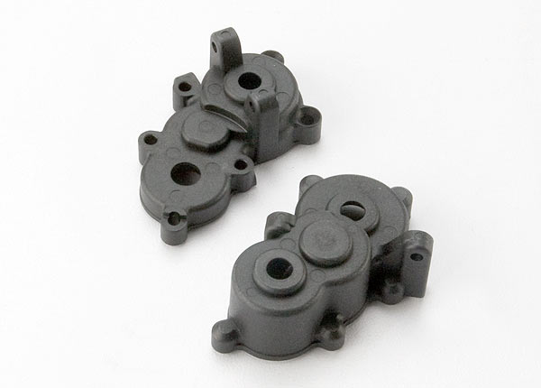 Gearbox halves, front & rear