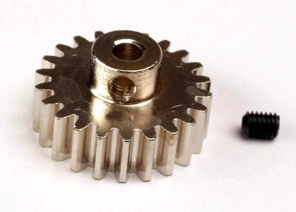 Gear, 22-T pinion (32-p) (mach.steel)/set screw
