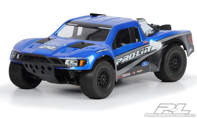 Flo-Tek Ford F-150 Raptor SVT Clear Body for Slash 2wd, Slash 4x4, SC10 & Ultima SC