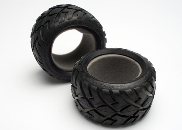 "Tires, Anaconda 2.8"" (2)/ foam inserts (2)"