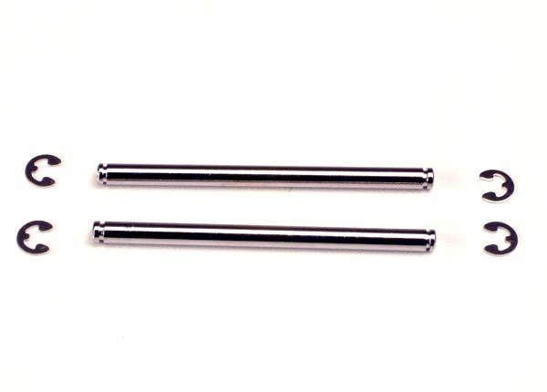 Suspension pins, 48mm (2) w/ E-clips