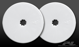 "Velocity 2.2"" Wide Front White Wheels"