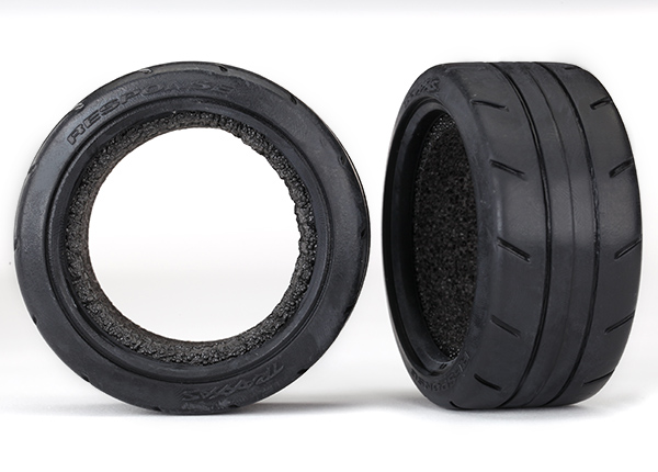 "Tires, Response 1.9"" Touring (extra wide, rear)/ foam inserts (2) (fits #8372 wide wheel)"