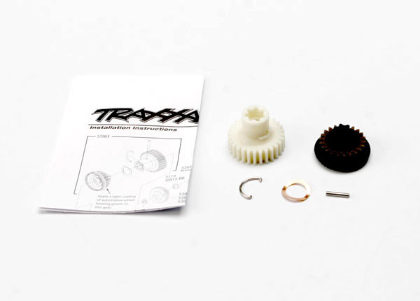 Primary gears, forward and reverse/ 2x11.8mm pin/ pin retainer/ disc spring