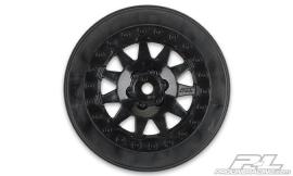 "F-11 2.2""/3.0"" Black Wheels"
