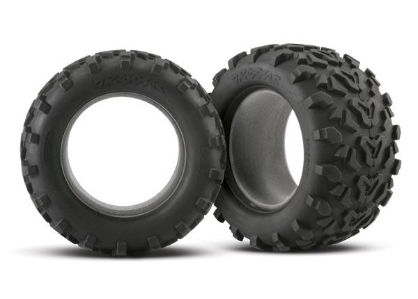 "Tires, Maxx 3.8"" (6.3"" outer diameter (160mm)) (2) (fits Revo/Maxx series)"